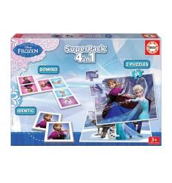 Superpack Frozen Disney 4 in 1