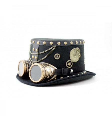 Cappello Steampunk Nero