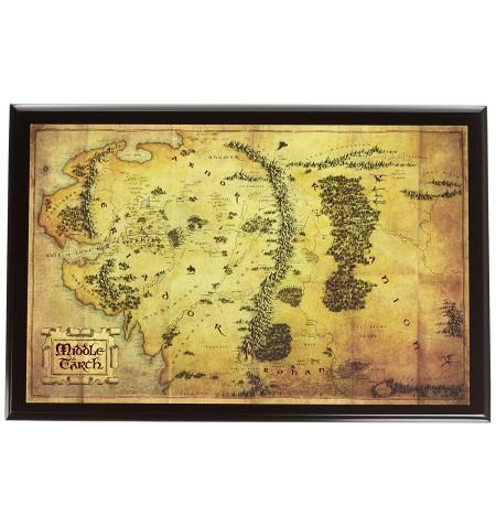 Mappa terra di mezza Lo Hobbit