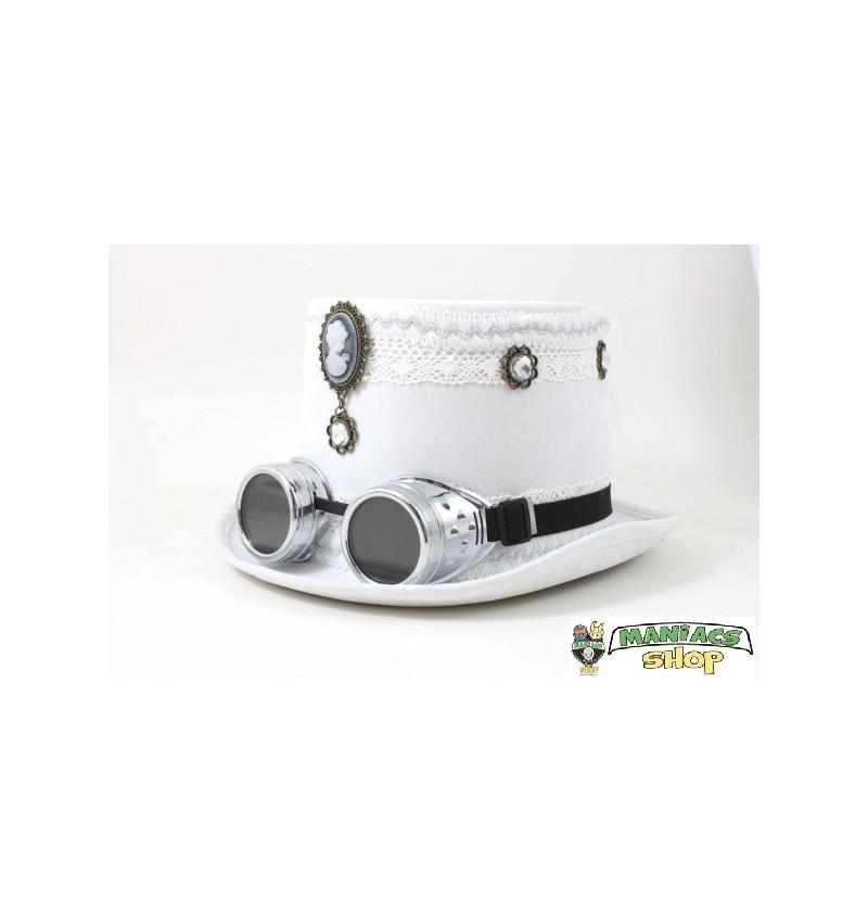 Cappello Steampunk Bianco