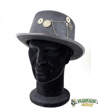 Cappello Steampunk Nero base