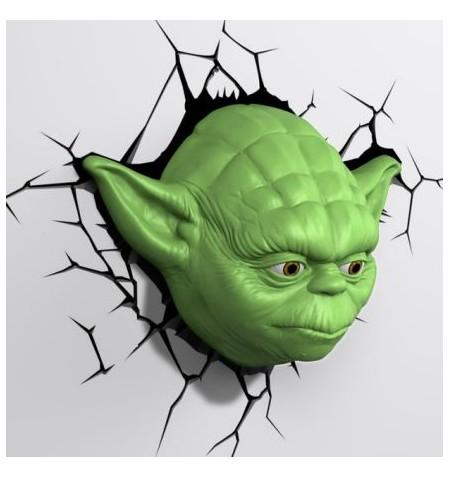 Lampada da muro Yoda